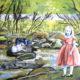 The girl was not sure... Maleri af Anne Juul Christophersen
