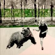 Out of the wood. Maleri af Anne Juul Christophersen