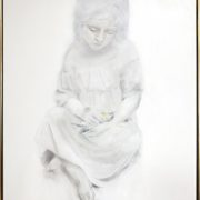 Elegi. Maleri af Karinna Damgaard