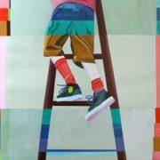 Sekvens. Malet af Martha Kramær