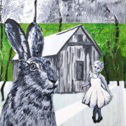 Maleri af Anne Juul Christophersen