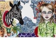 No Title (Zebra Shadow)