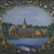 Halmstad Slott af Esaias Thorén