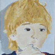 Maleri af min datter