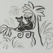 Scherfig litografi