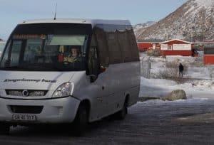 Bussen i Kangerlussuaq