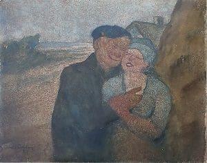 Arvid Carlson akvarel