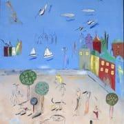 Maleri af Madeleine Pyk