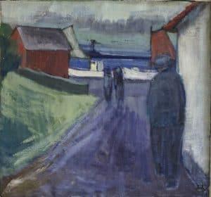 Ukendt maleri fra 1941